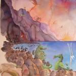 Kauaiian Dragon Little Family 1