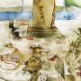 The Queen's Spirit At The Nymphaeum - detail 3