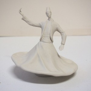 A Dervish with one hand up