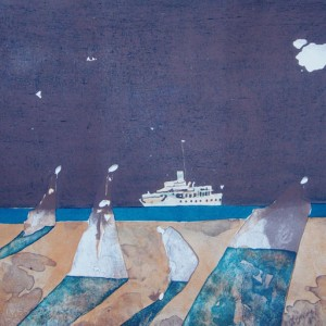 The Large Ship Passing By – I
